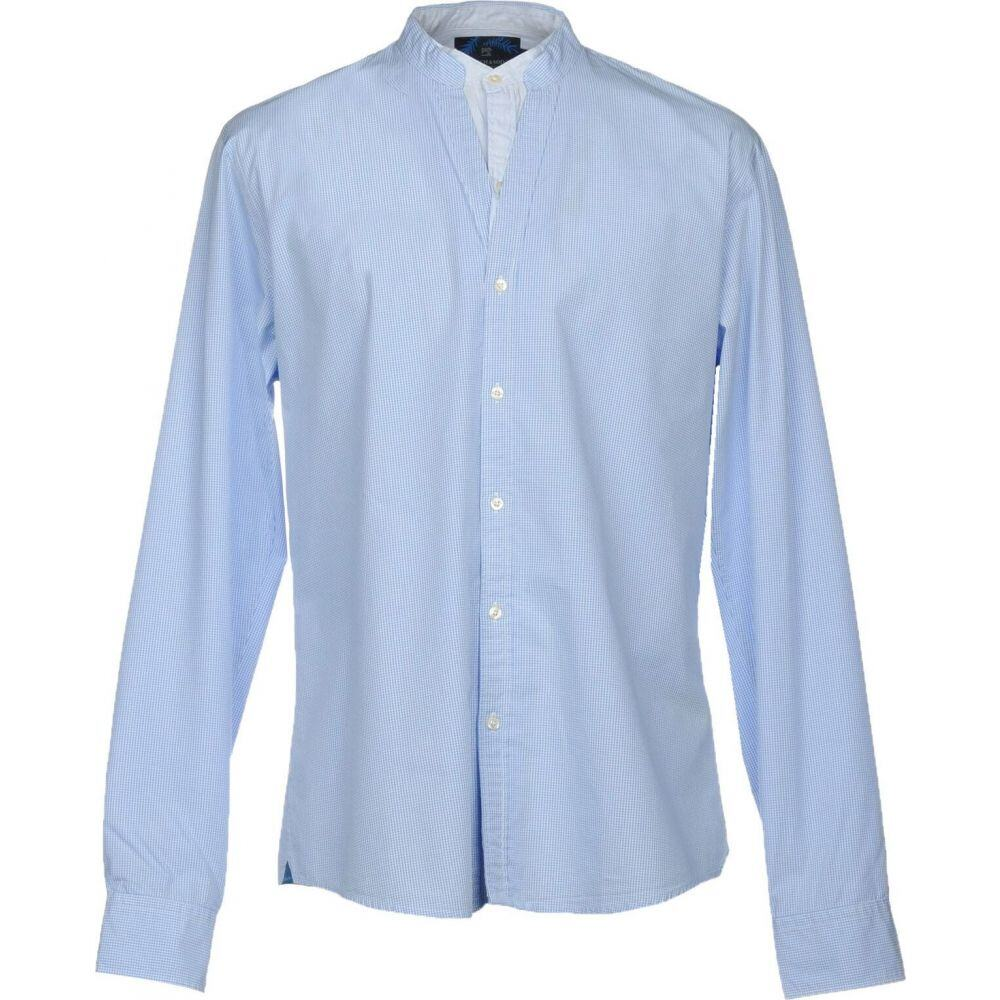 スコッチ&ソーダ SCOTCH & SODA メンズ シャツ トップス【checked shirt】Sky blue