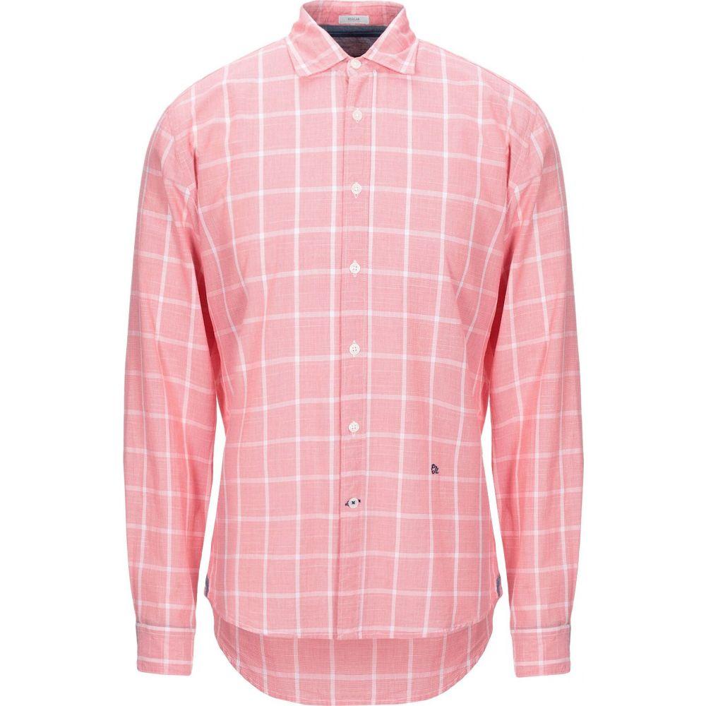 ペペジーンズ PEPE JEANS メンズ シャツ トップス【checked shirt】Coral