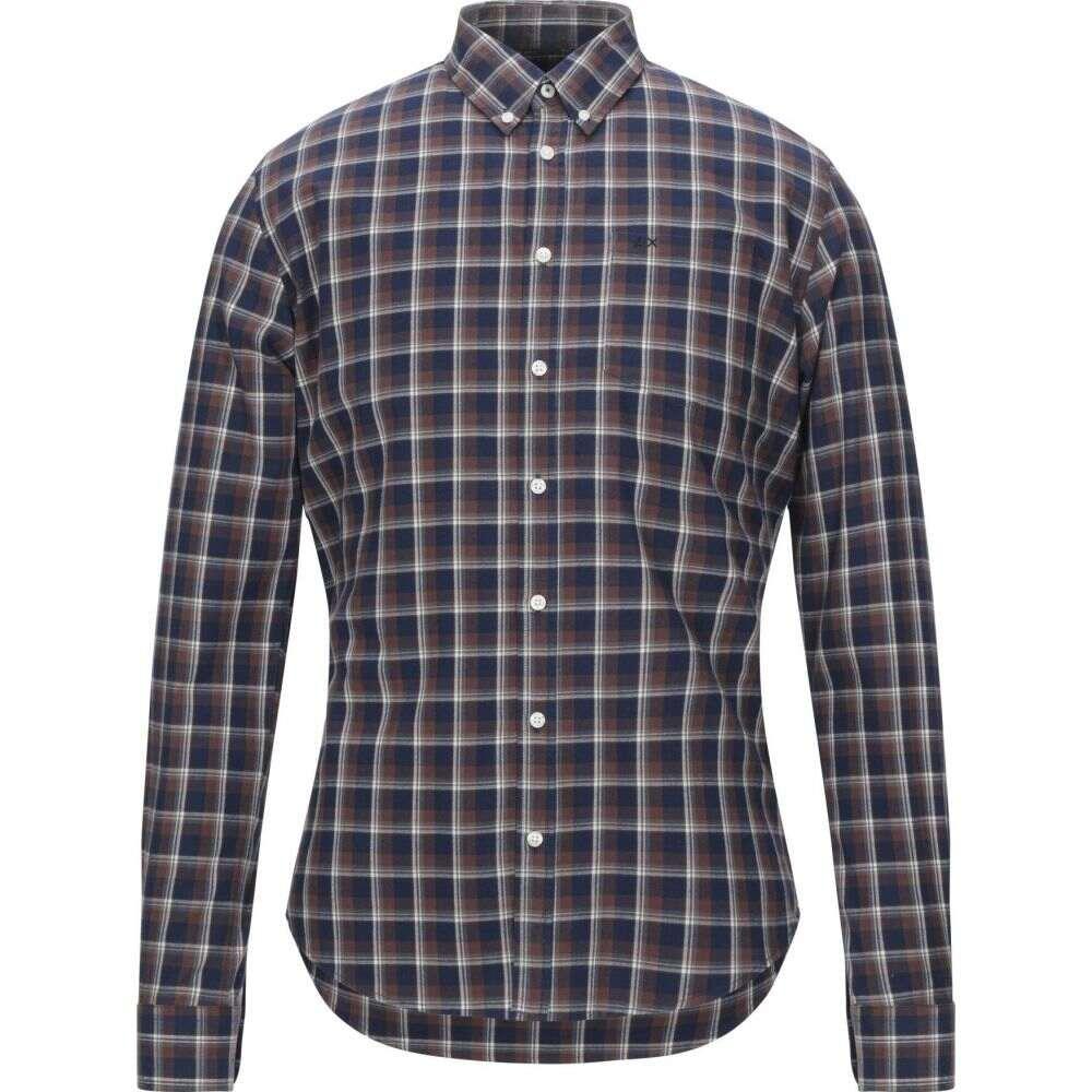 サン シックスティーエイト SUN 68 メンズ シャツ トップス【checked shirt】Brown