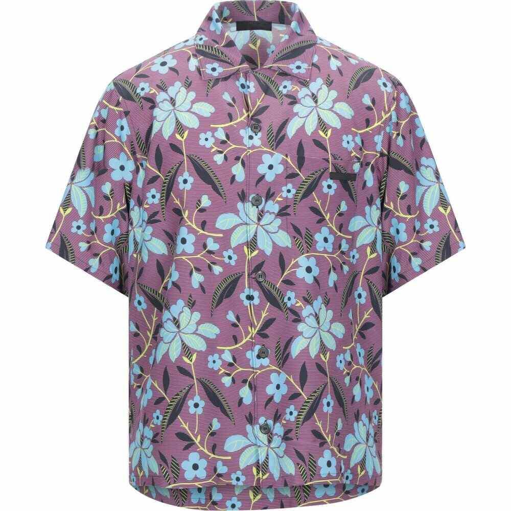 プラダ PRADA メンズ シャツ トップス【patterned shirt】Light purple