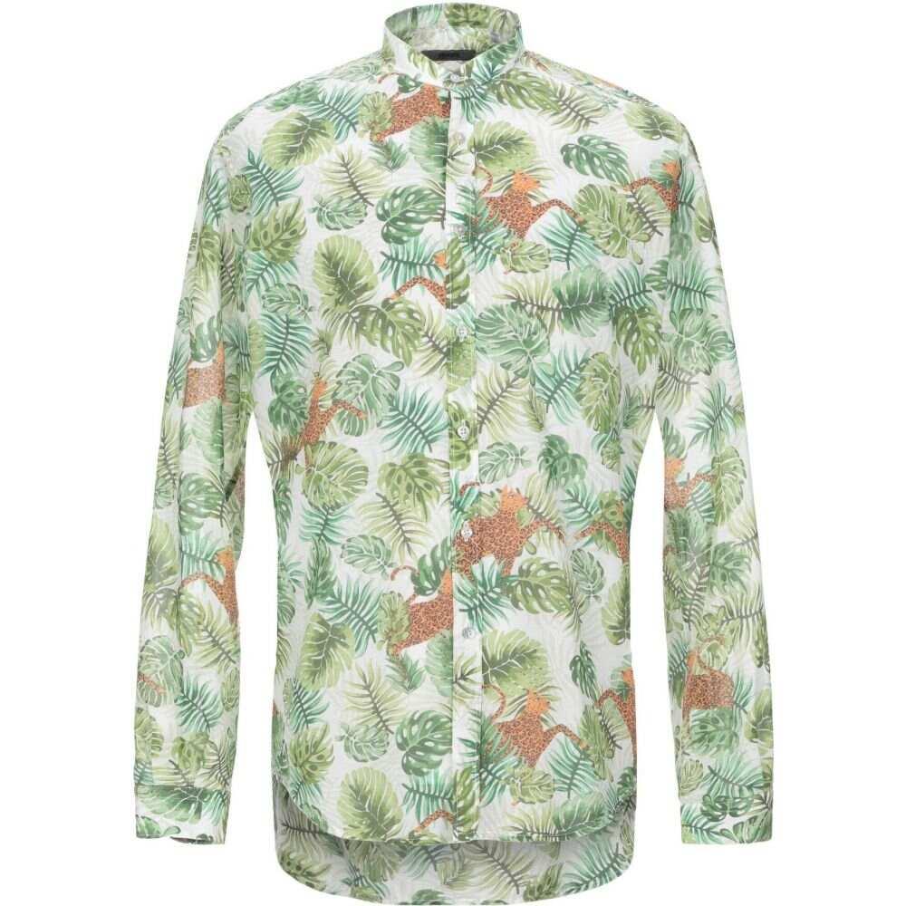 スティロソフィー インダストリー STILOSOPHY INDUSTRY メンズ シャツ トップス【patterned shirt】Green