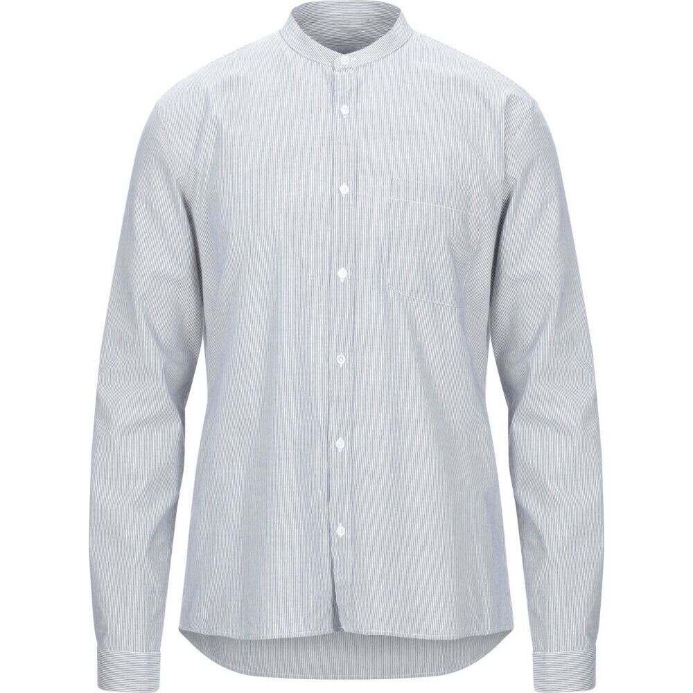 サンドロ SANDRO メンズ シャツ トップス【striped shirt】Dark blue
