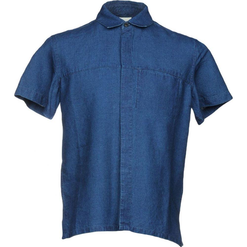 サイモンミラー SIMON MILLER メンズ シャツ トップス【linen shirt】Blue