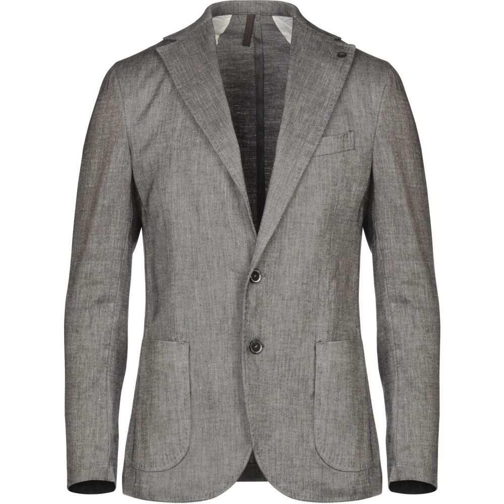 <title>ラボラトリ イタリアーニ メンズ アウター スーツ ジャケット Dark brown サイズ交換無料 LABORATORI ITALIANI 信用 blazer</title>