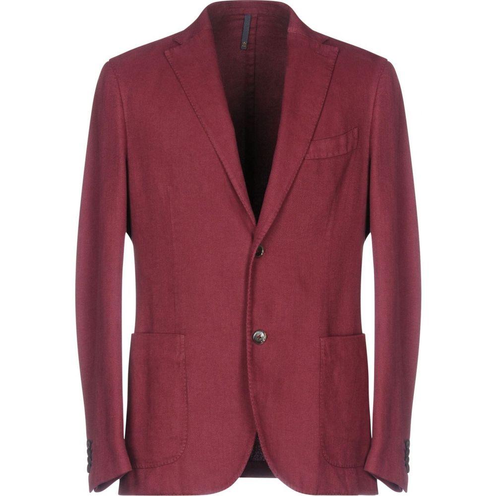 モンテドーロ MONTEDORO メンズ スーツ・ジャケット アウター【blazer】Garnet