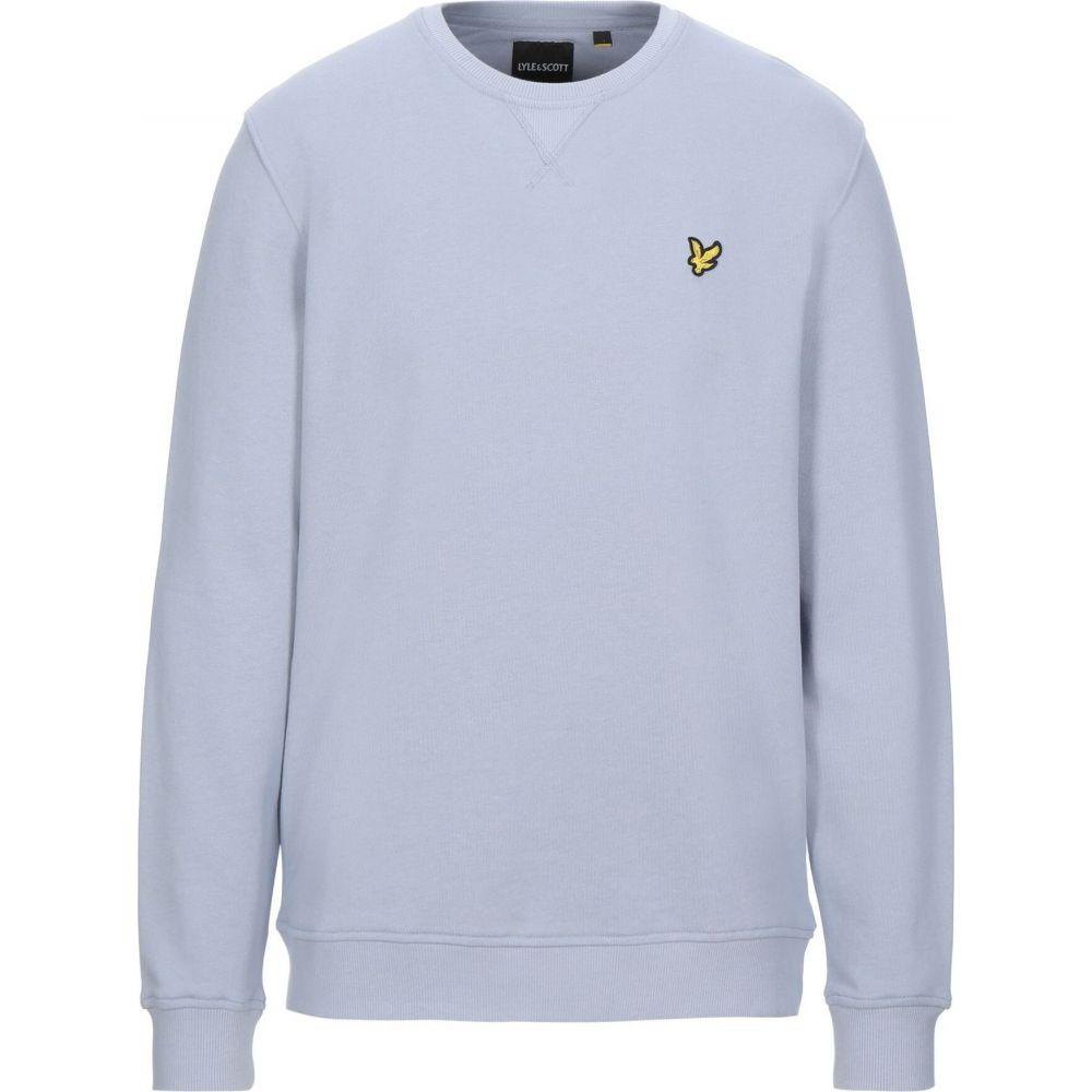 ライル アンド スコット LYLE & SCOTT メンズ スウェット・トレーナー トップス【sweatshirt】Lilac