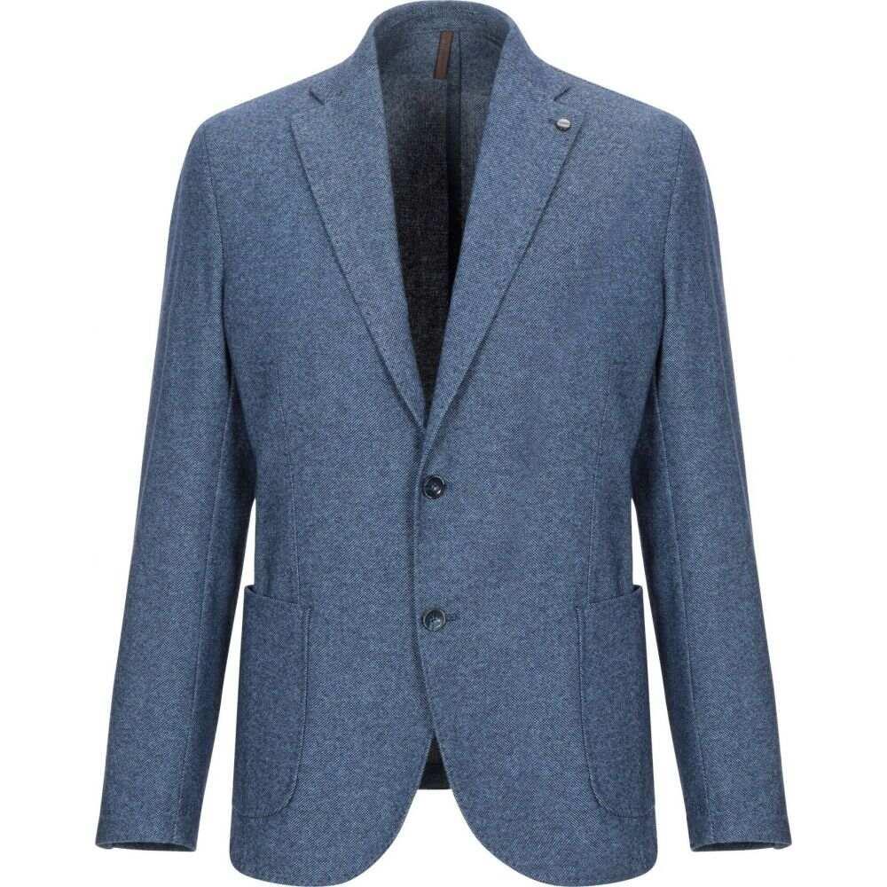 ラボラトリ イタリアーニ LABORATORI ITALIANI メンズ スーツ・ジャケット アウター【blazer】Slate blue