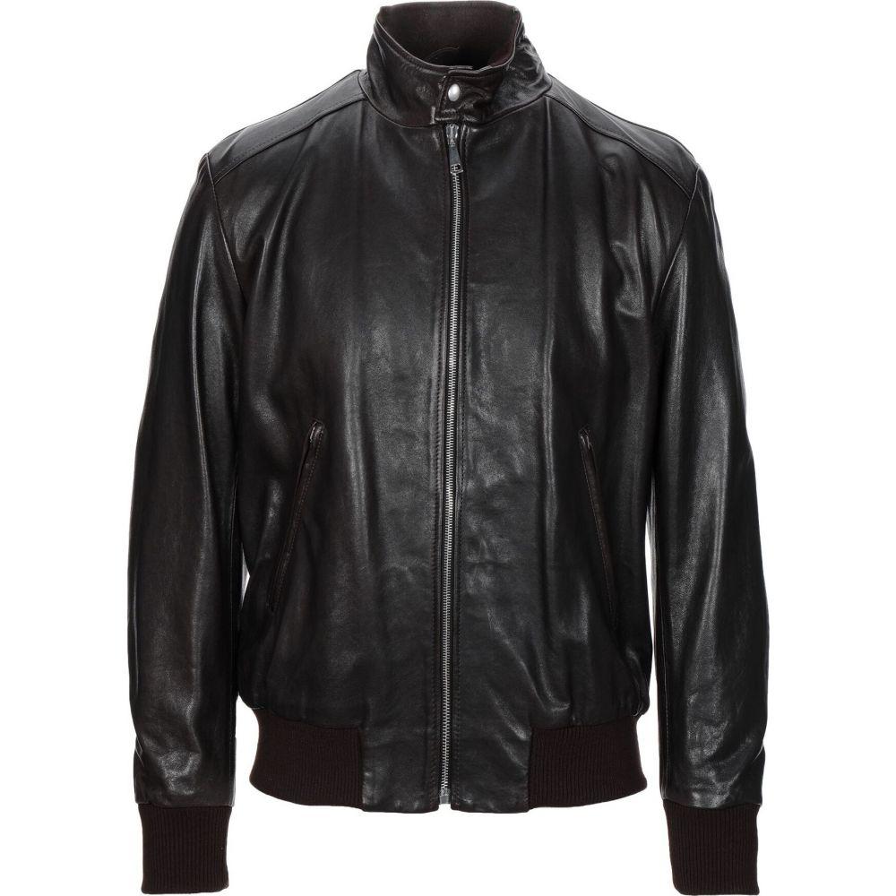 ヨーン YOON メンズ ジャケット ライダース アウター【biker jacket】Dark brown