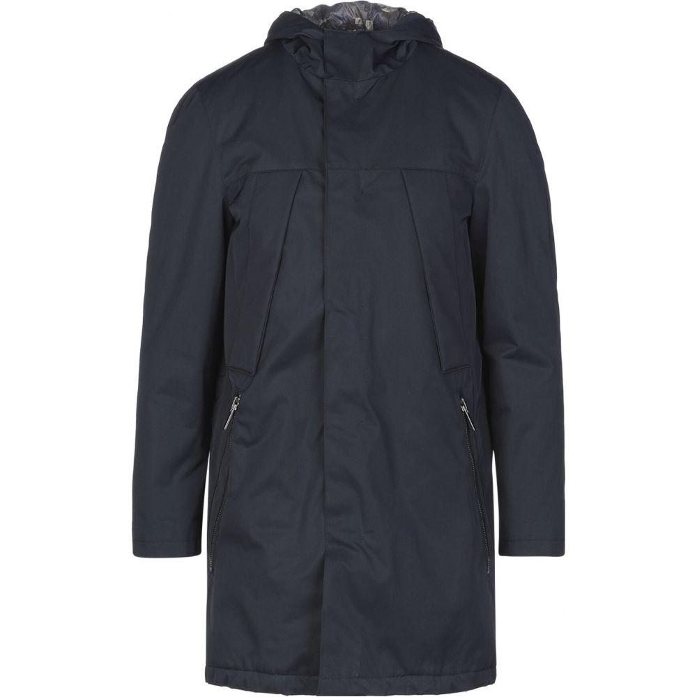 アレッサンドロ デラクア ALESSANDRO DELL'ACQUA メンズ コート アウター【full-length jacket】Dark blue