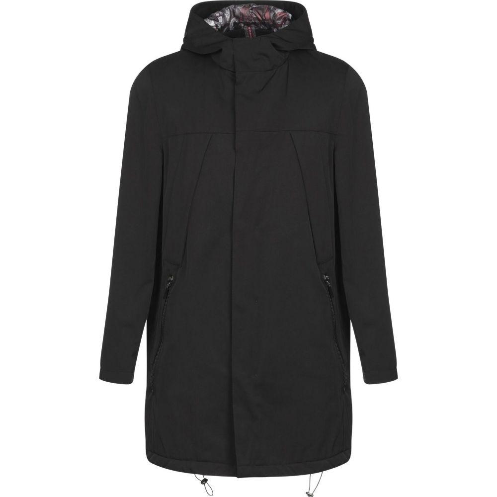 アレッサンドロ デラクア ALESSANDRO DELL'ACQUA メンズ コート アウター【full-length jacket】Black