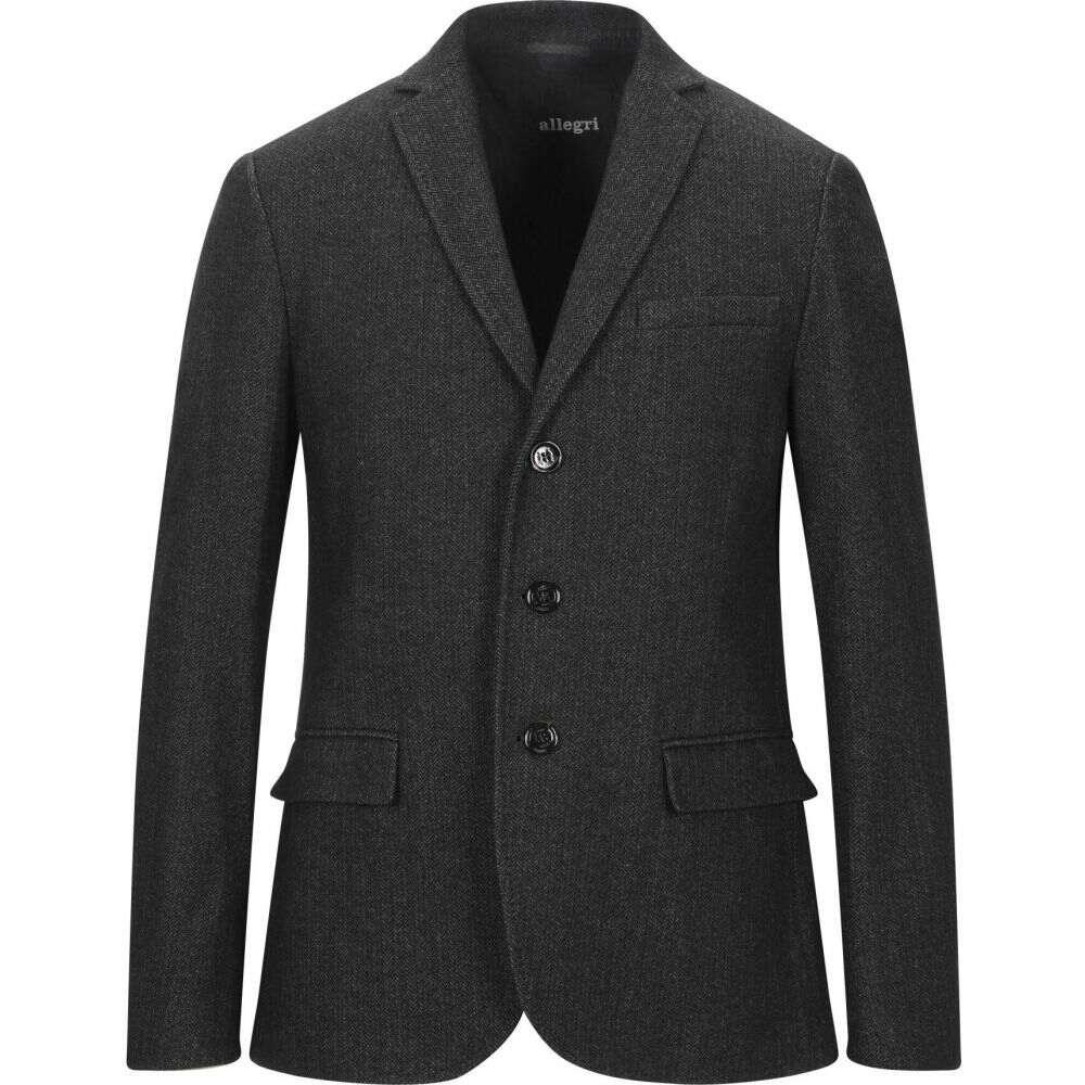 アレグリ ALLEGRI メンズ スーツ・ジャケット アウター【blazer】Steel grey
