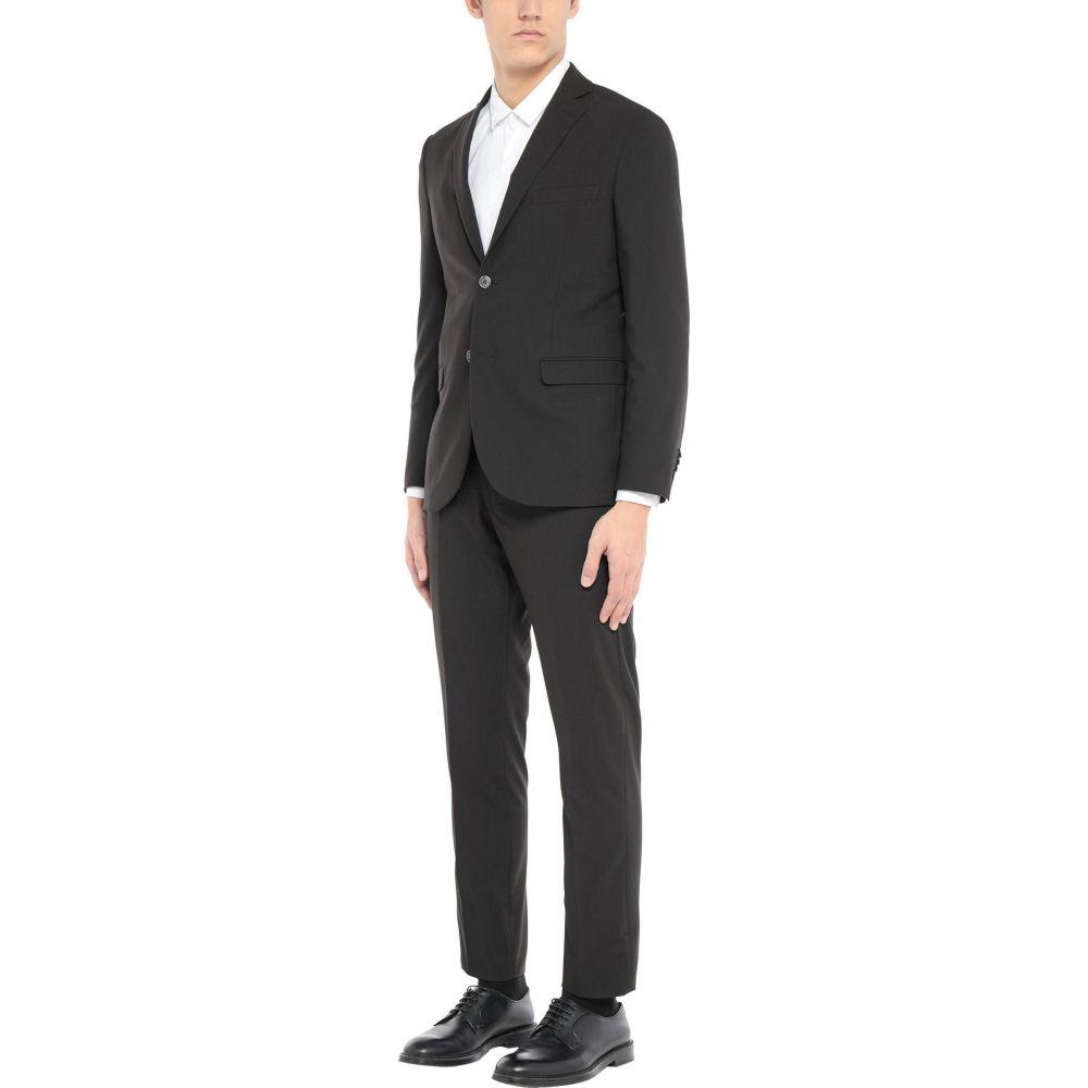 アレッサンドロ ジレ ALESSANDRO GILLES メンズ スーツ・ジャケット アウター【Suit】Black