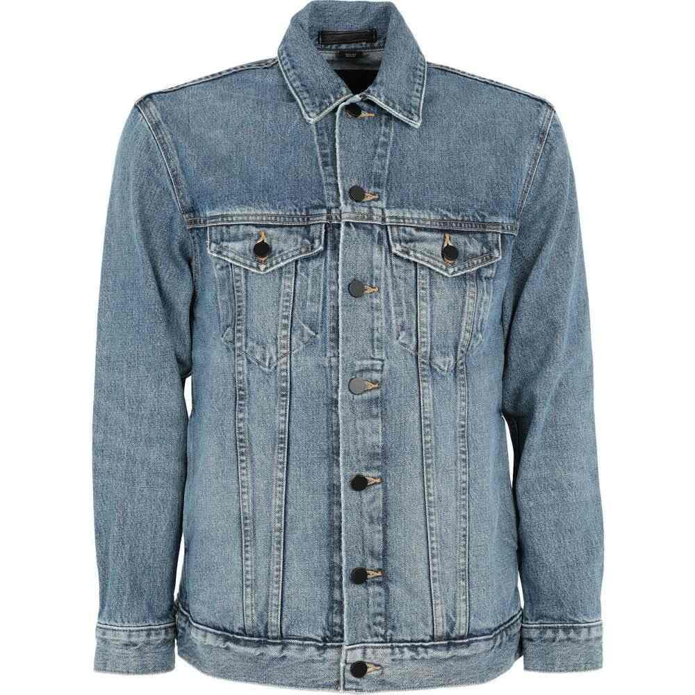 アレキサンダー ワン ALEXANDER WANG メンズ ジャケット Gジャン アウター【denim jacket】Blue