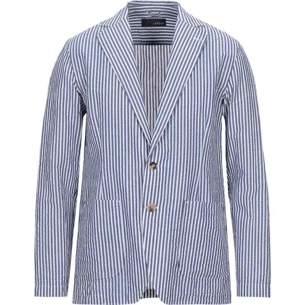 ラルディーニ LARDINI メンズ スーツ・ジャケット アウター【blazer】Blue