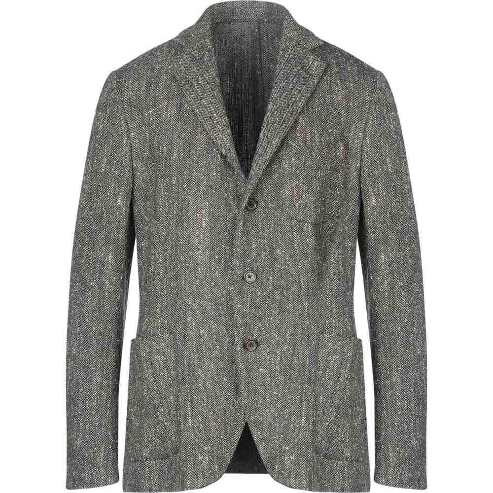 ラルディーニ LARDINI メンズ スーツ・ジャケット アウター【blazer】Military green