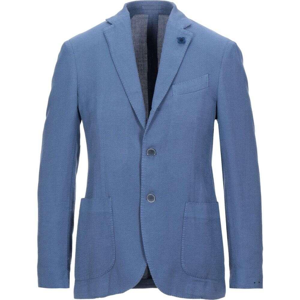 ラルディーニ LARDINI メンズ スーツ・ジャケット アウター【blazer】Azure