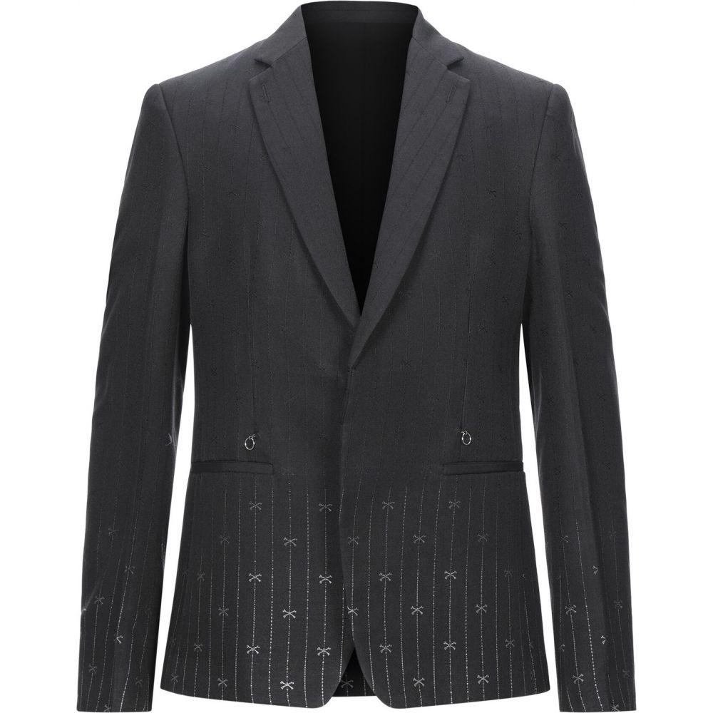 ラルディーニ LARDINI メンズ スーツ・ジャケット アウター【blazer】Black