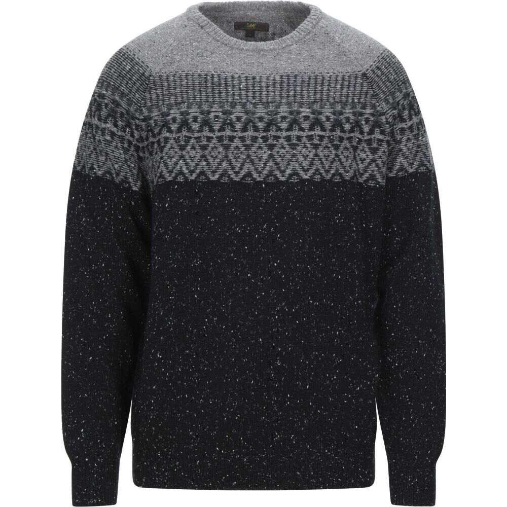 リー LEE メンズ ニット・セーター トップス【sweater】Grey
