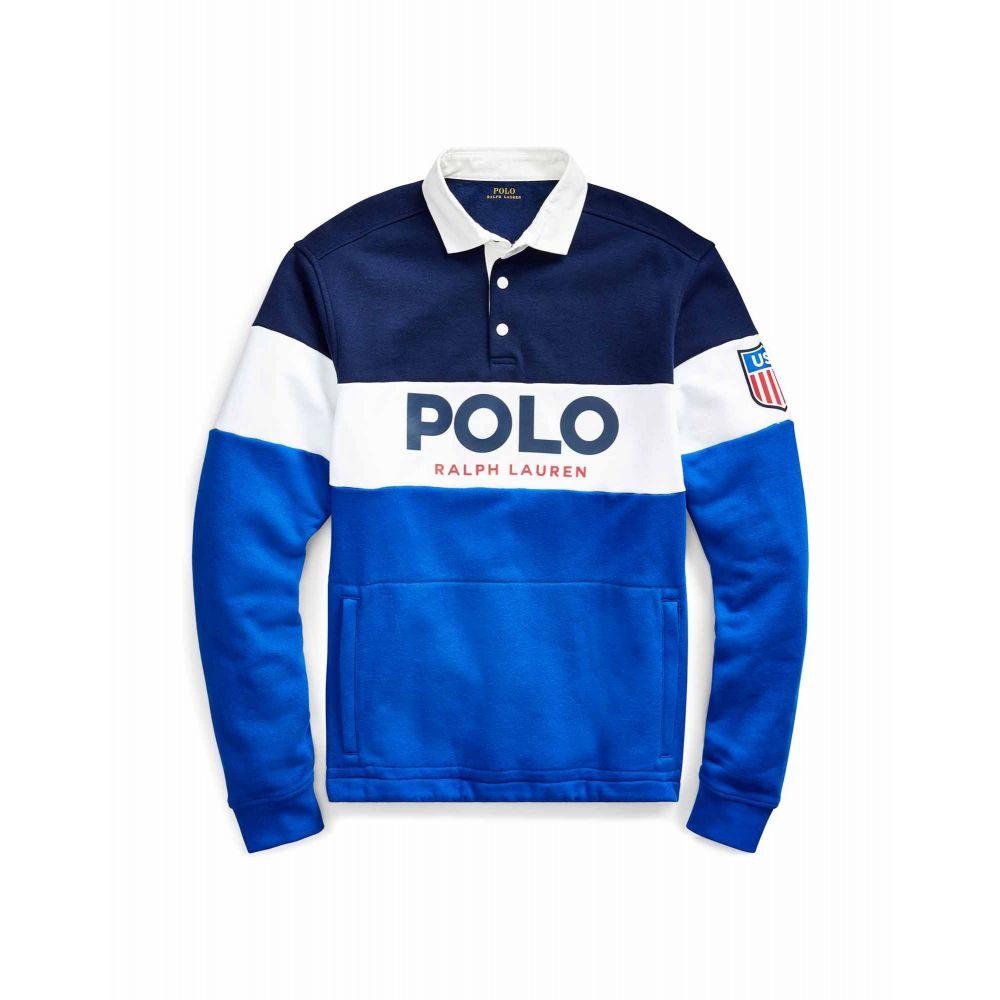 ラルフ ローレン POLO RALPH LAUREN メンズ スウェット・トレーナー トップス【rugby sweatshirt】Blue