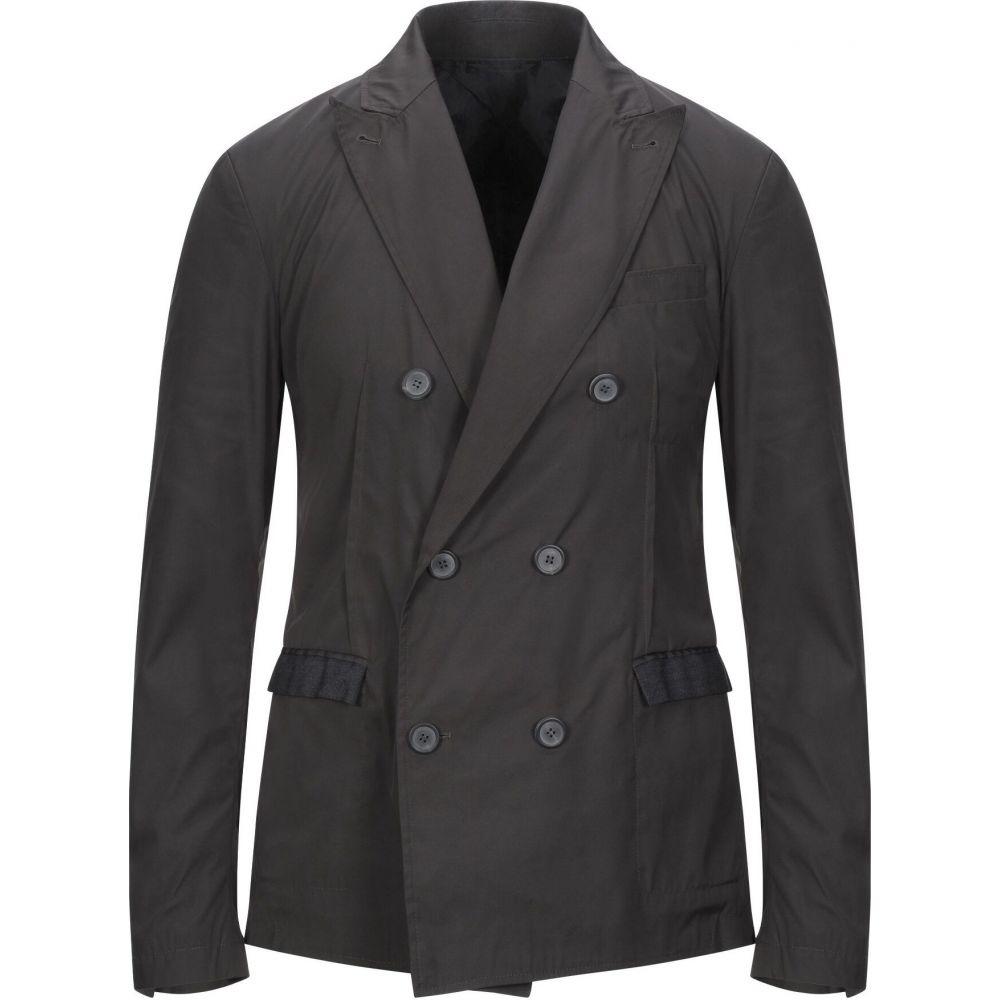 ランバン LANVIN メンズ コート ピーコート アウター【double breasted pea coat】Steel grey