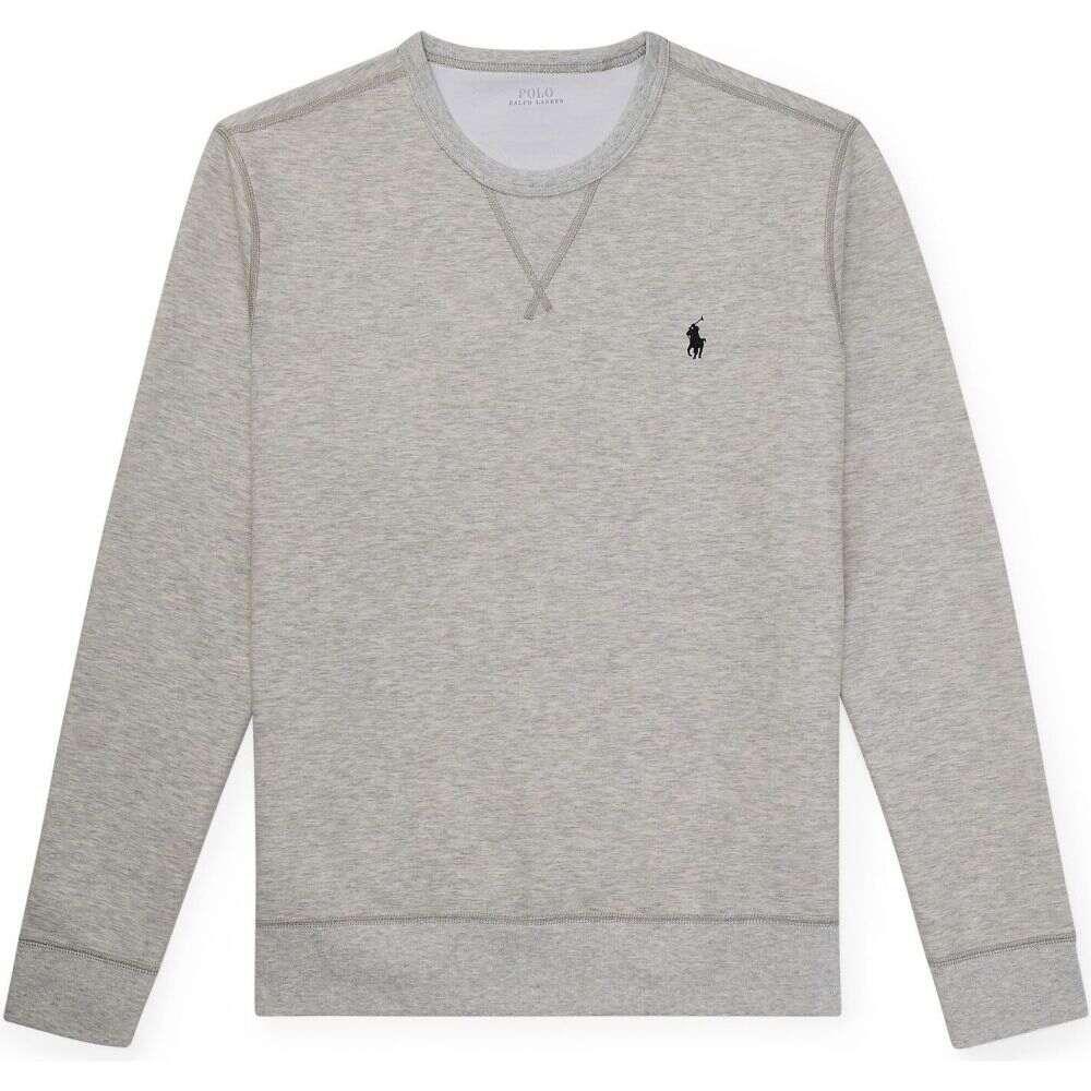 ラルフ ローレン POLO RALPH LAUREN メンズ スウェット・トレーナー トップス【double-knit sweatshirt】Light grey
