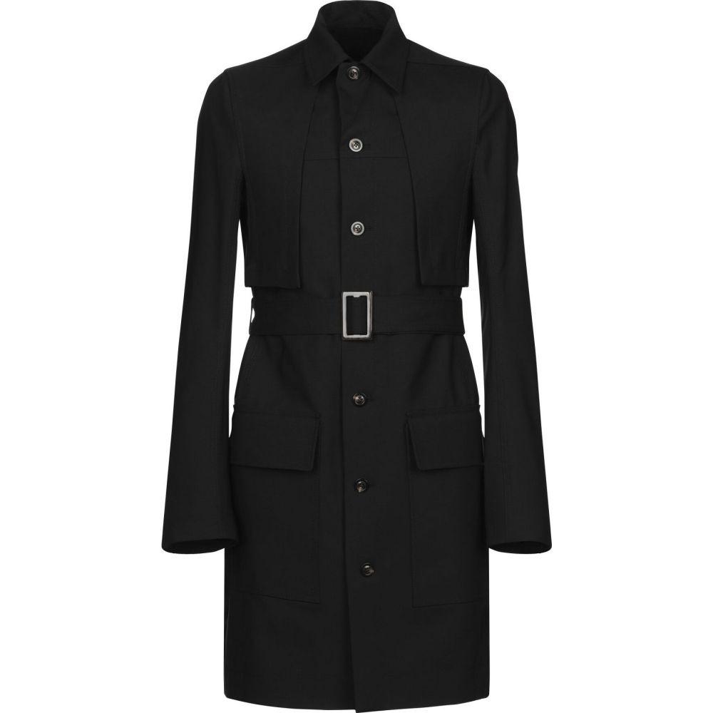 リック オウエンス RICK OWENS メンズ コート アウター【full-length jacket】Black