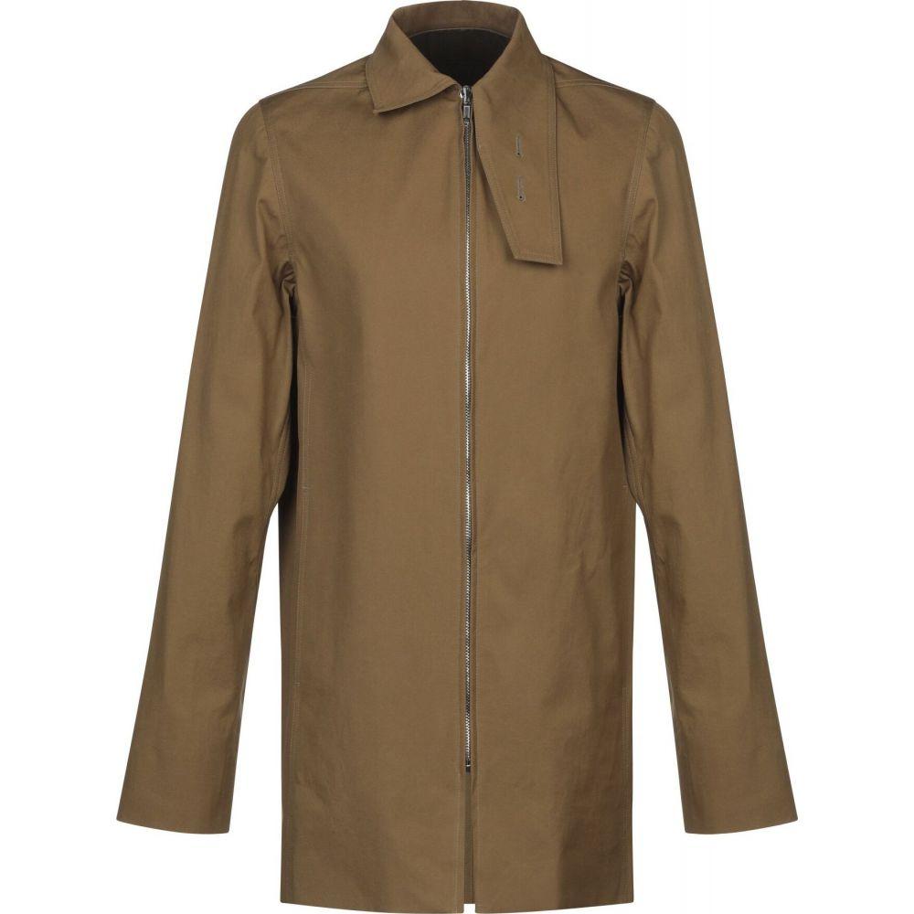 リック オウエンス RICK OWENS メンズ コート アウター【full-length jacket】Military green