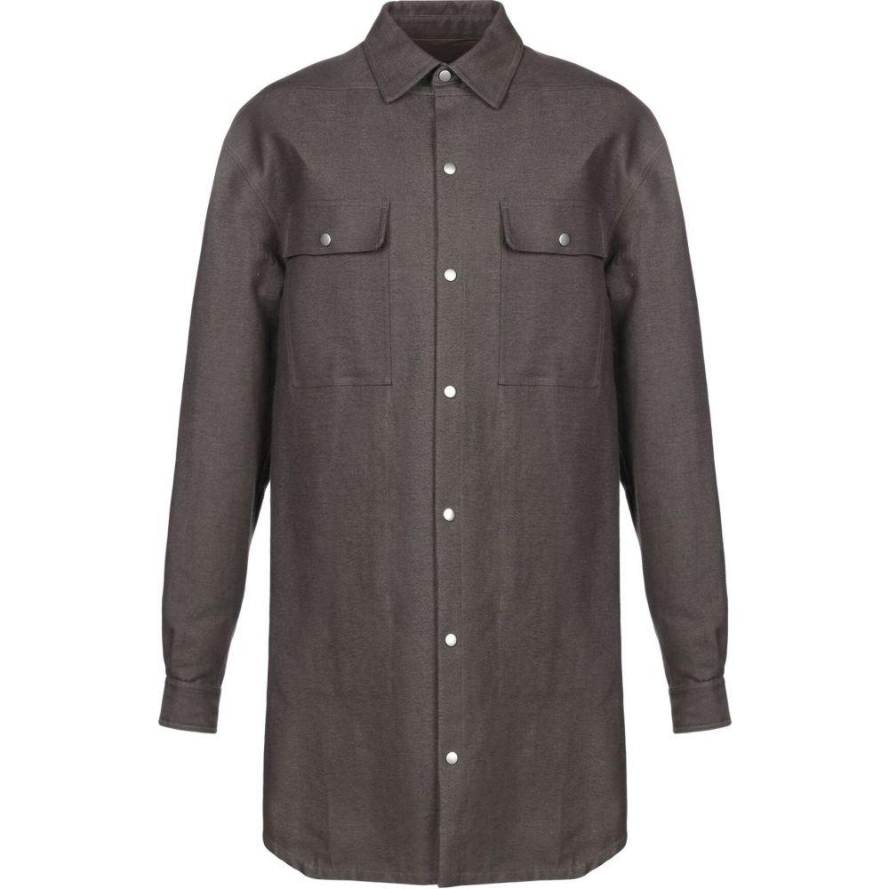 リック オウエンス RICK OWENS メンズ コート アウター【full-length jacket】Lead