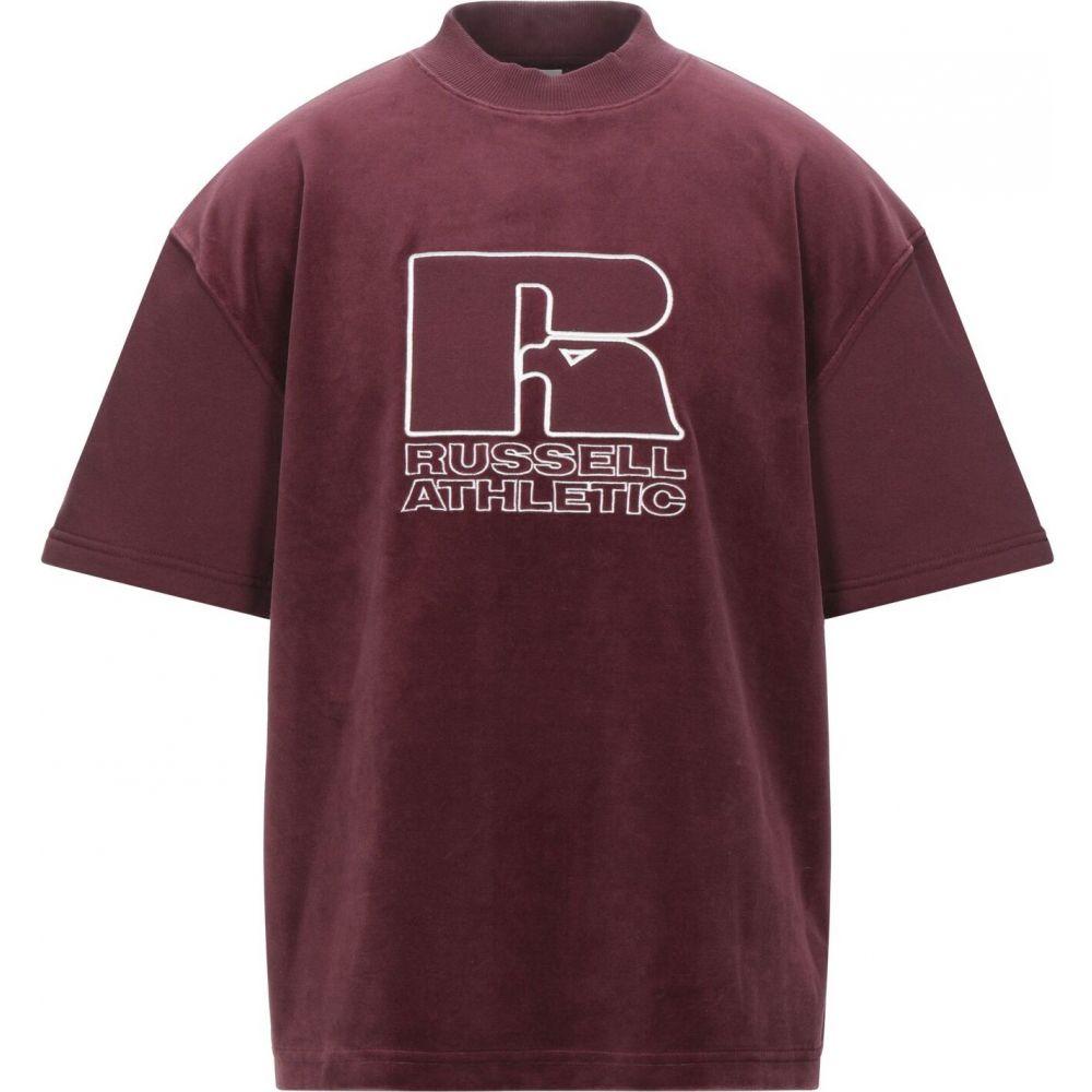 ルッセルオーセンティック RUSSELL ATHLETIC メンズ スウェット・トレーナー トップス【sweatshirt】Maroon