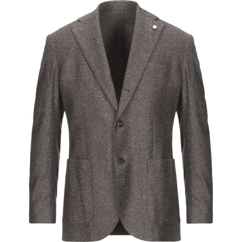 ルイジ ビアンキ モントヴァ LUIGI BIANCHI Mantova メンズ スーツ・ジャケット アウター【blazer】Dark brown