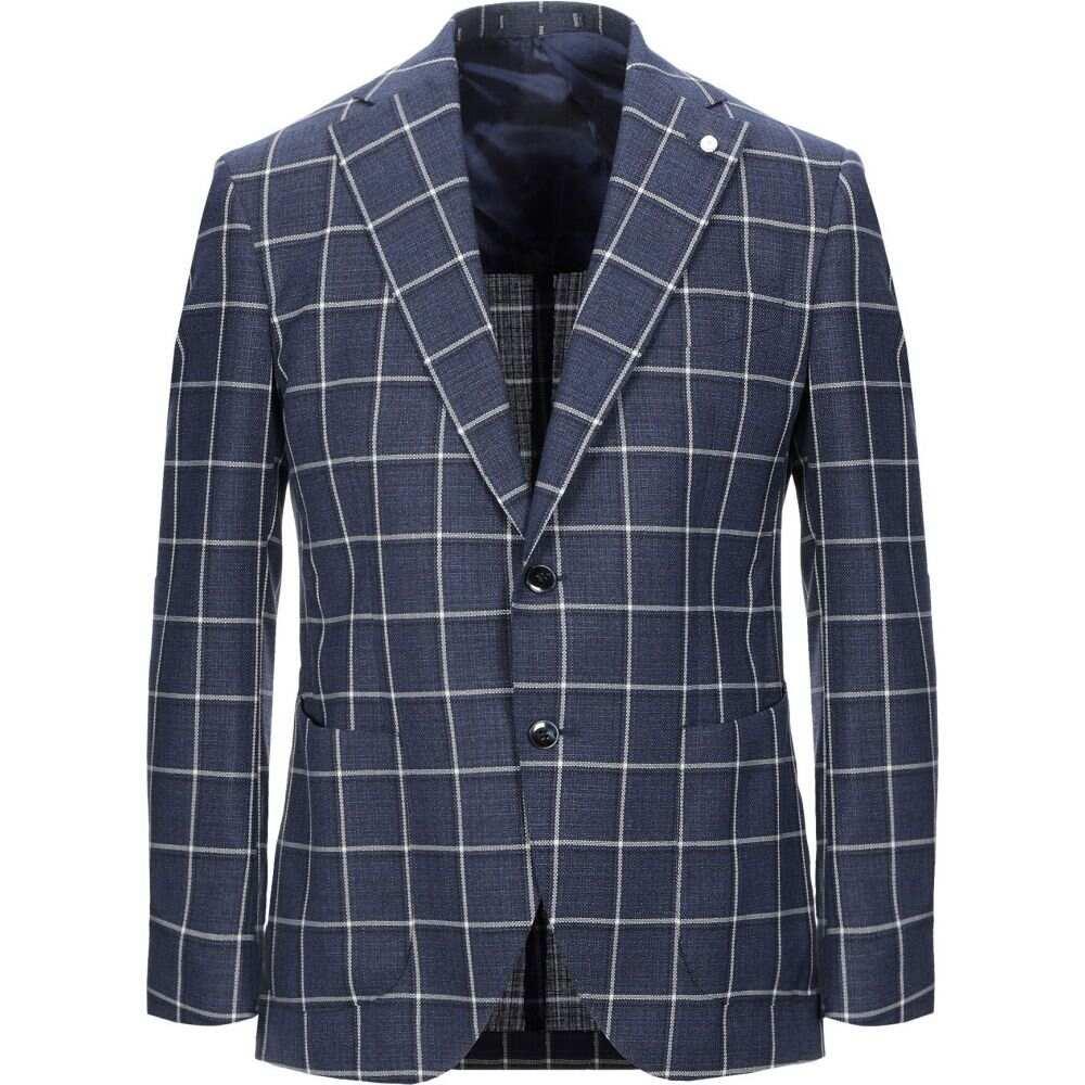 ルイジ ビアンキ モントヴァ LUIGI BIANCHI Mantova メンズ スーツ・ジャケット アウター【blazer】Blue