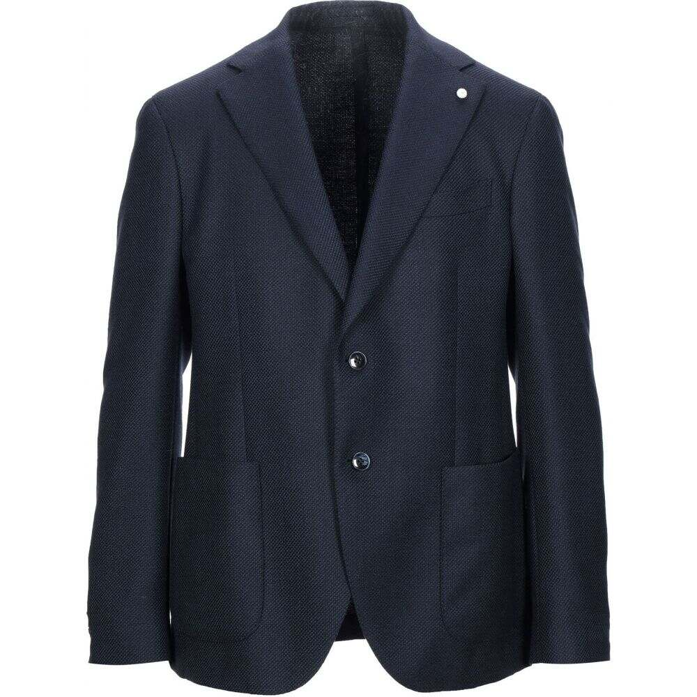 ルイジ ビアンキ モントヴァ LUIGI BIANCHI Mantova メンズ スーツ・ジャケット アウター【blazer】Dark blue