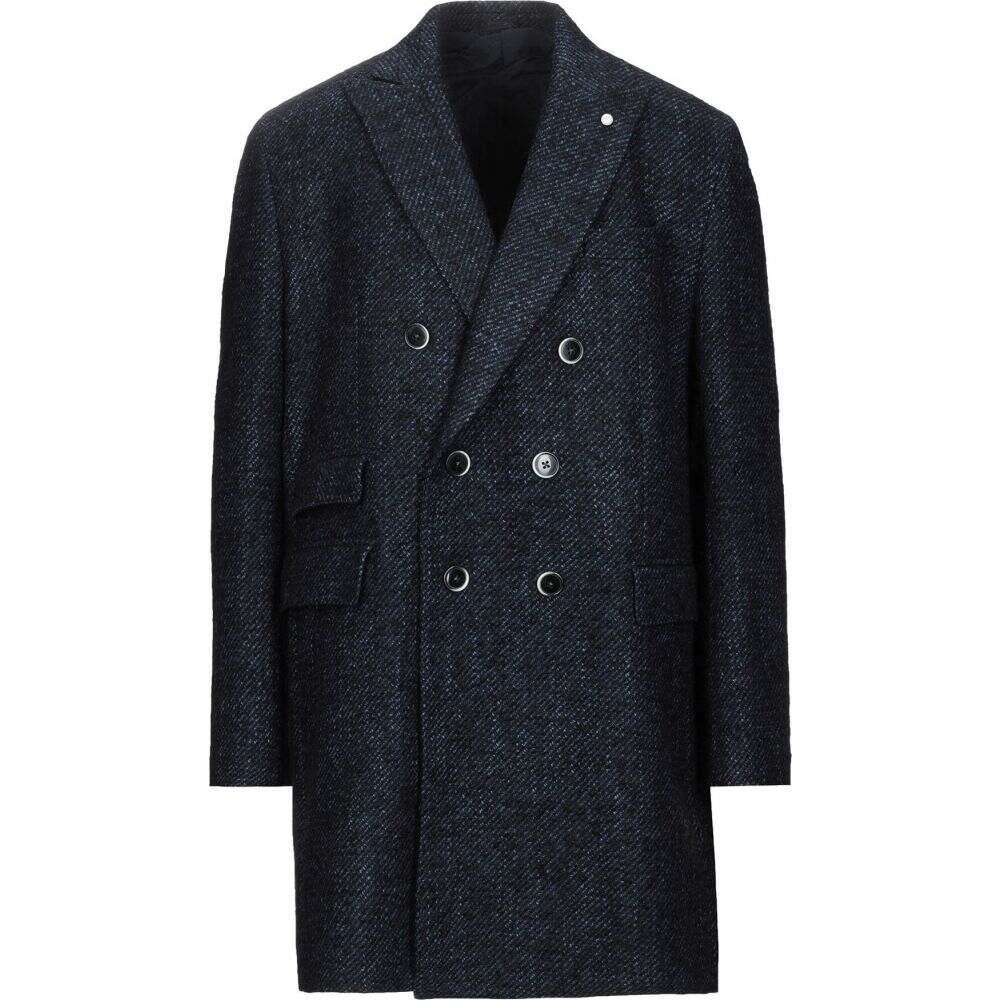 ルイジ ビアンキ モントヴァ LUIGI BIANCHI Mantova メンズ コート アウター【coat】Dark blue