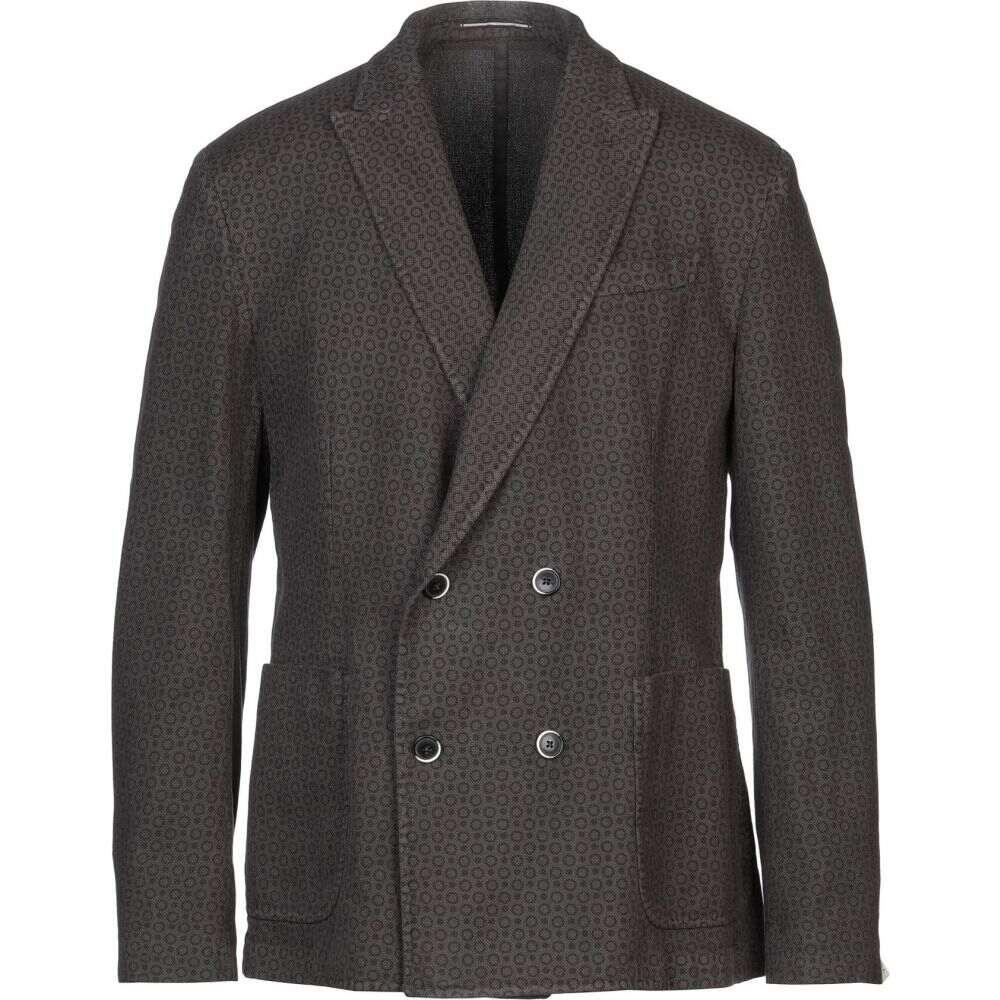 ロダ RODA メンズ スーツ・ジャケット アウター【blazer】Dark brown