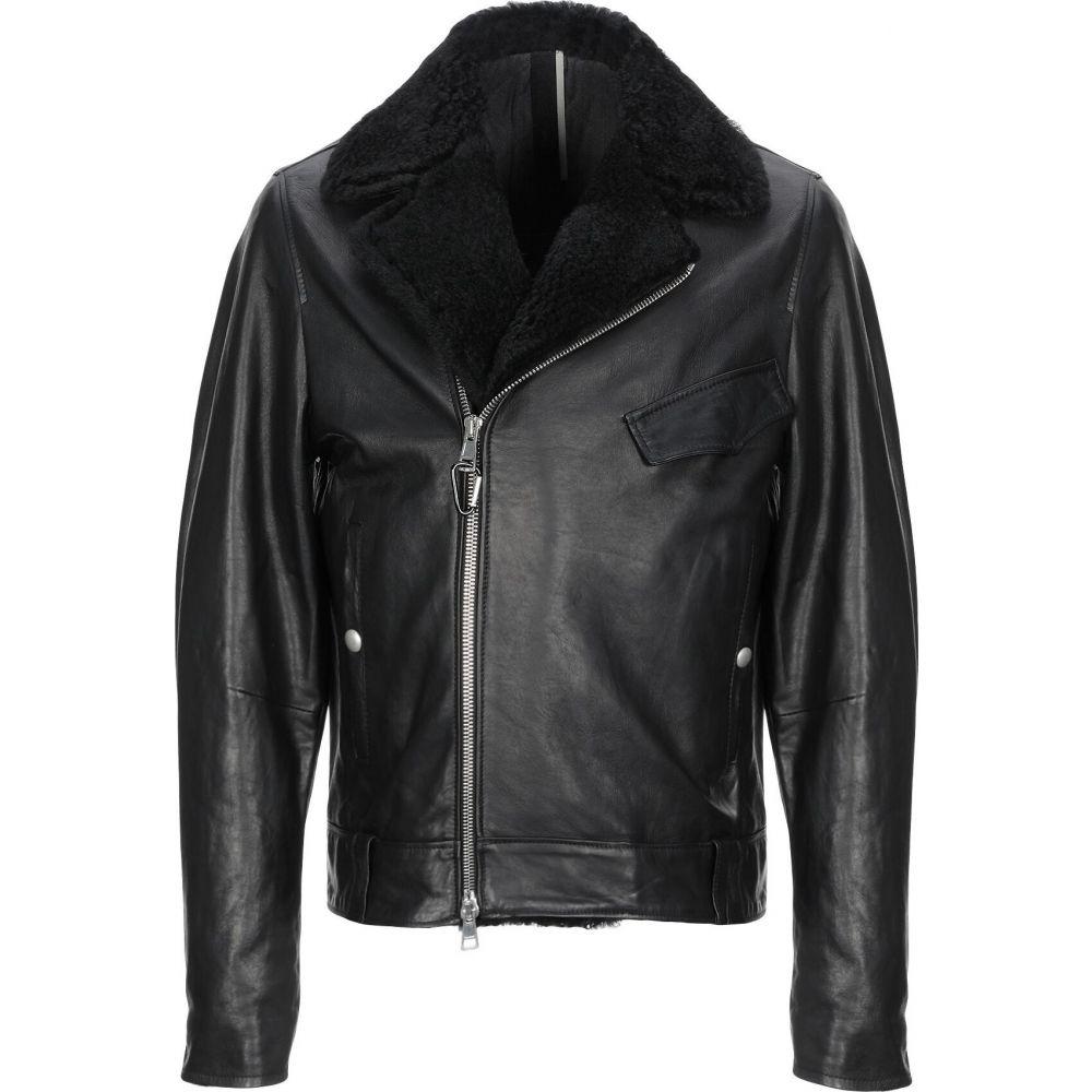 ロウブランド LOW BRAND メンズ ジャケット ライダース アウター【biker jacket】Black