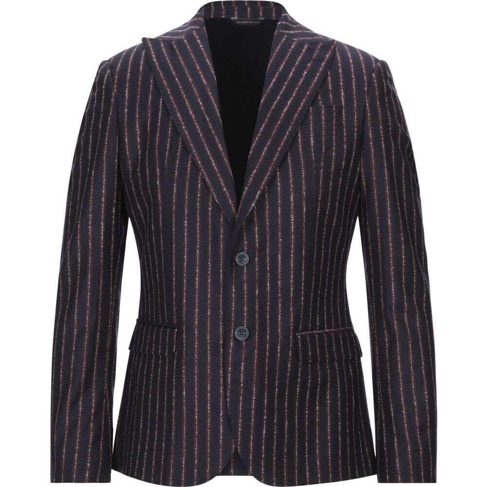 アレッサンドロ デラクア ALESSANDRO DELL'ACQUA メンズ スーツ・ジャケット アウター【blazer】Dark blue