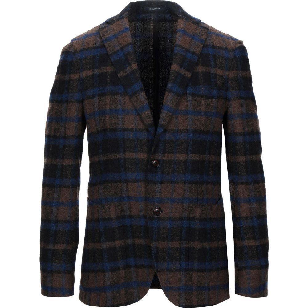 アンジェロ ナルデッリ ANGELO NARDELLI メンズ スーツ・ジャケット アウター【blazer】Brown