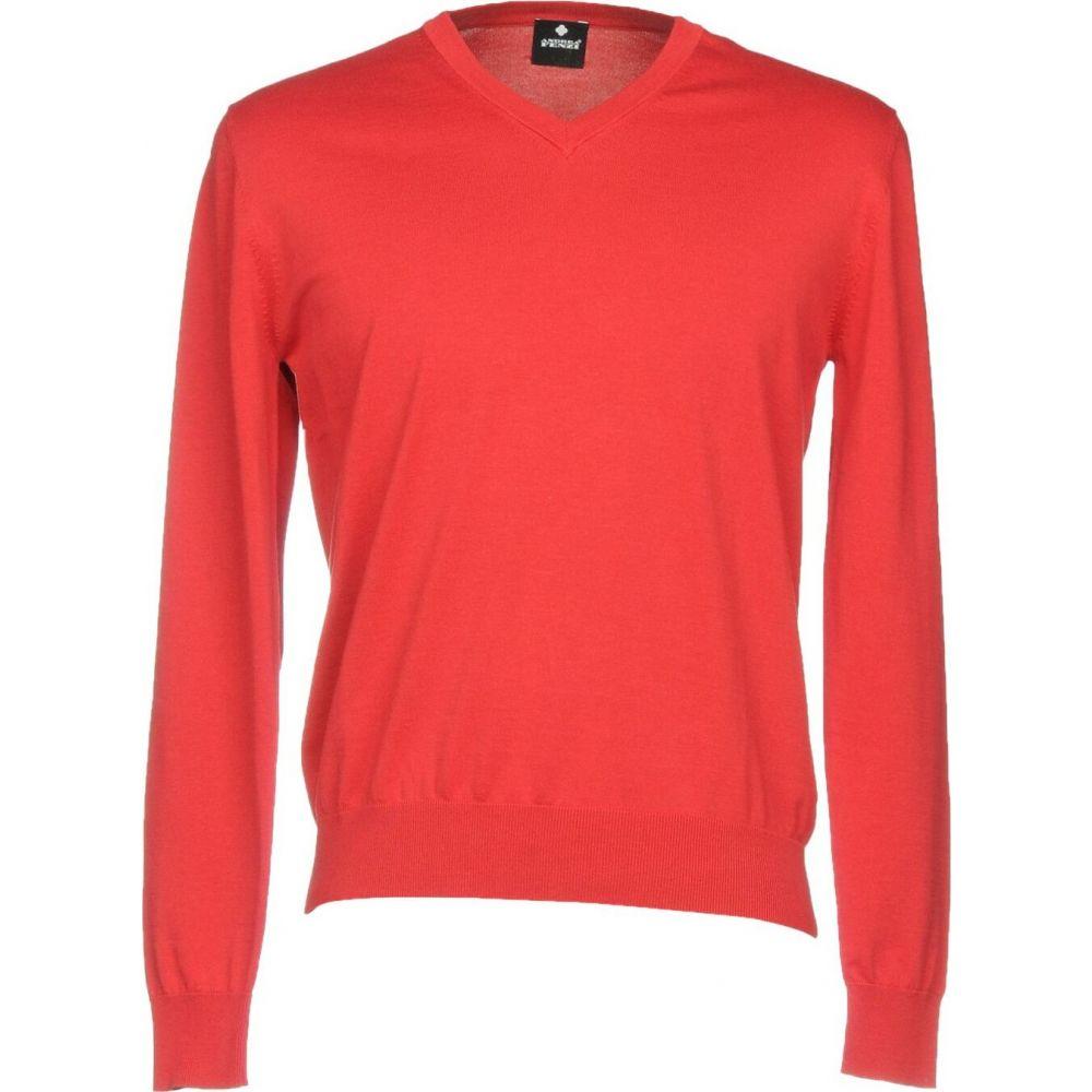 アンドレア フェンツィ ANDREA FENZI メンズ ニット・セーター トップス【sweater】Red
