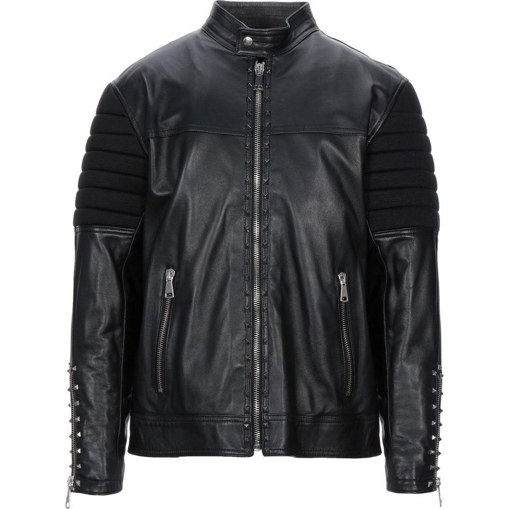 イエスロンドン YES LONDON メンズ ジャケット ライダース アウター【biker jacket】Black