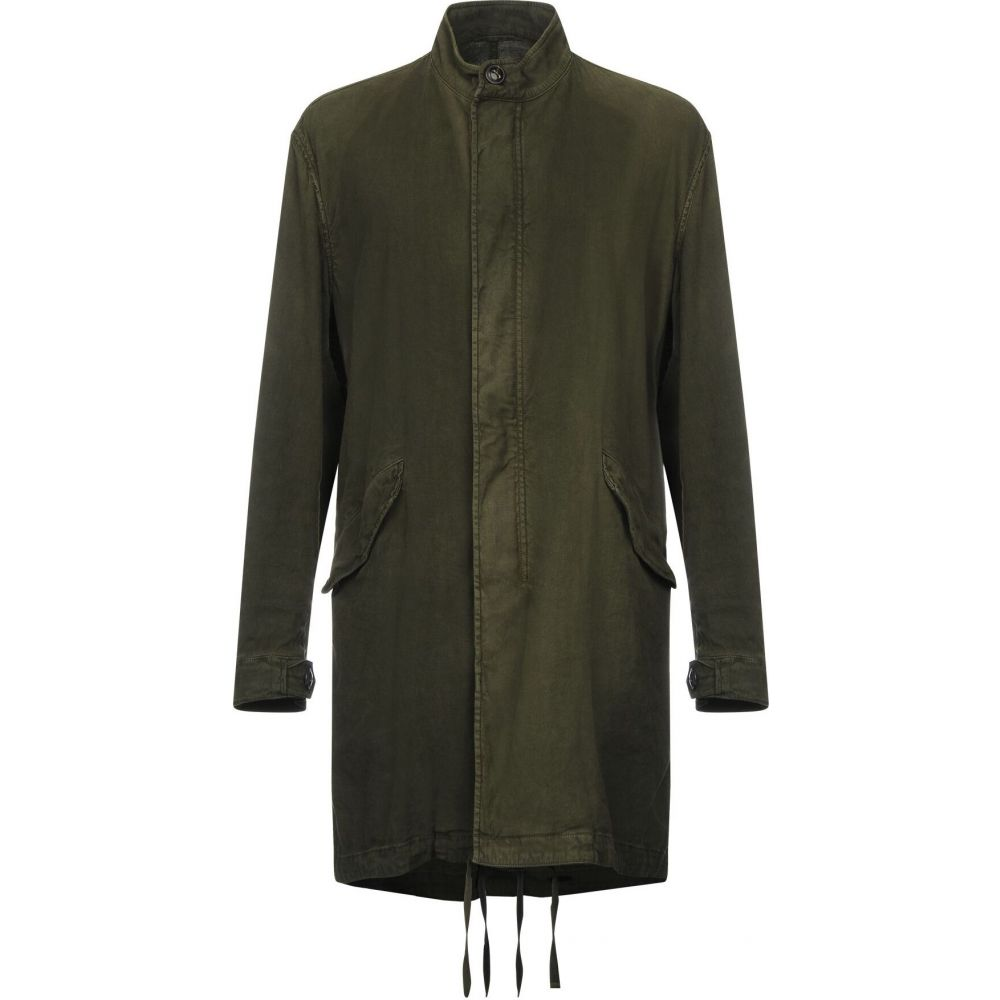 ヴィンス VINCE. メンズ コート アウター【full-length jacket】Military green