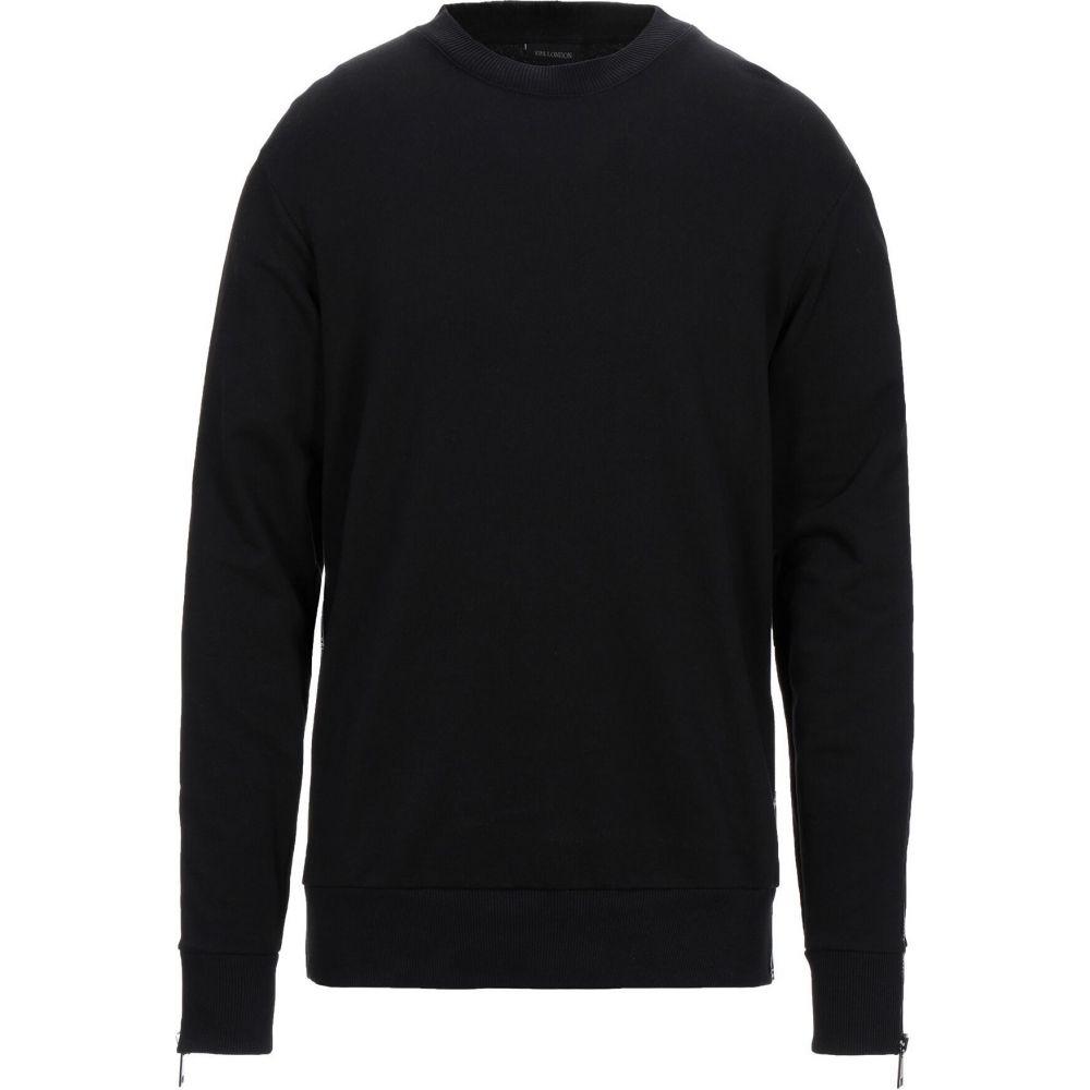 イエスロンドン YES LONDON メンズ スウェット・トレーナー トップス【sweatshirt】Black