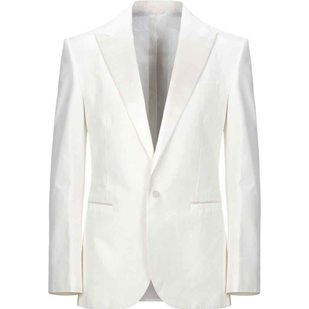 ヴェルサーチ VERSACE メンズ スーツ・ジャケット アウター【blazer】Ivory