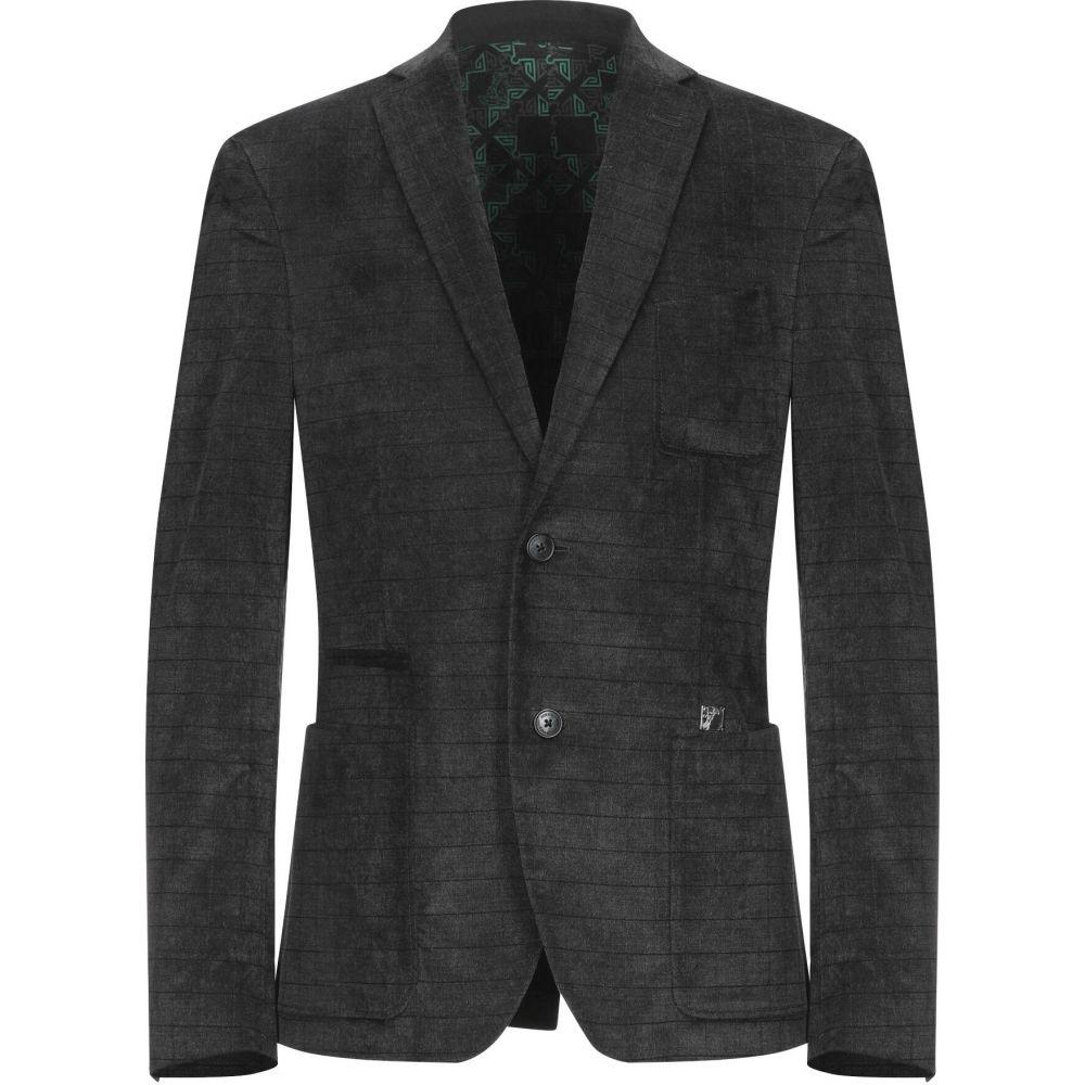 ヴェルサーチ VERSACE COLLECTION メンズ スーツ・ジャケット アウター【blazer】Steel grey
