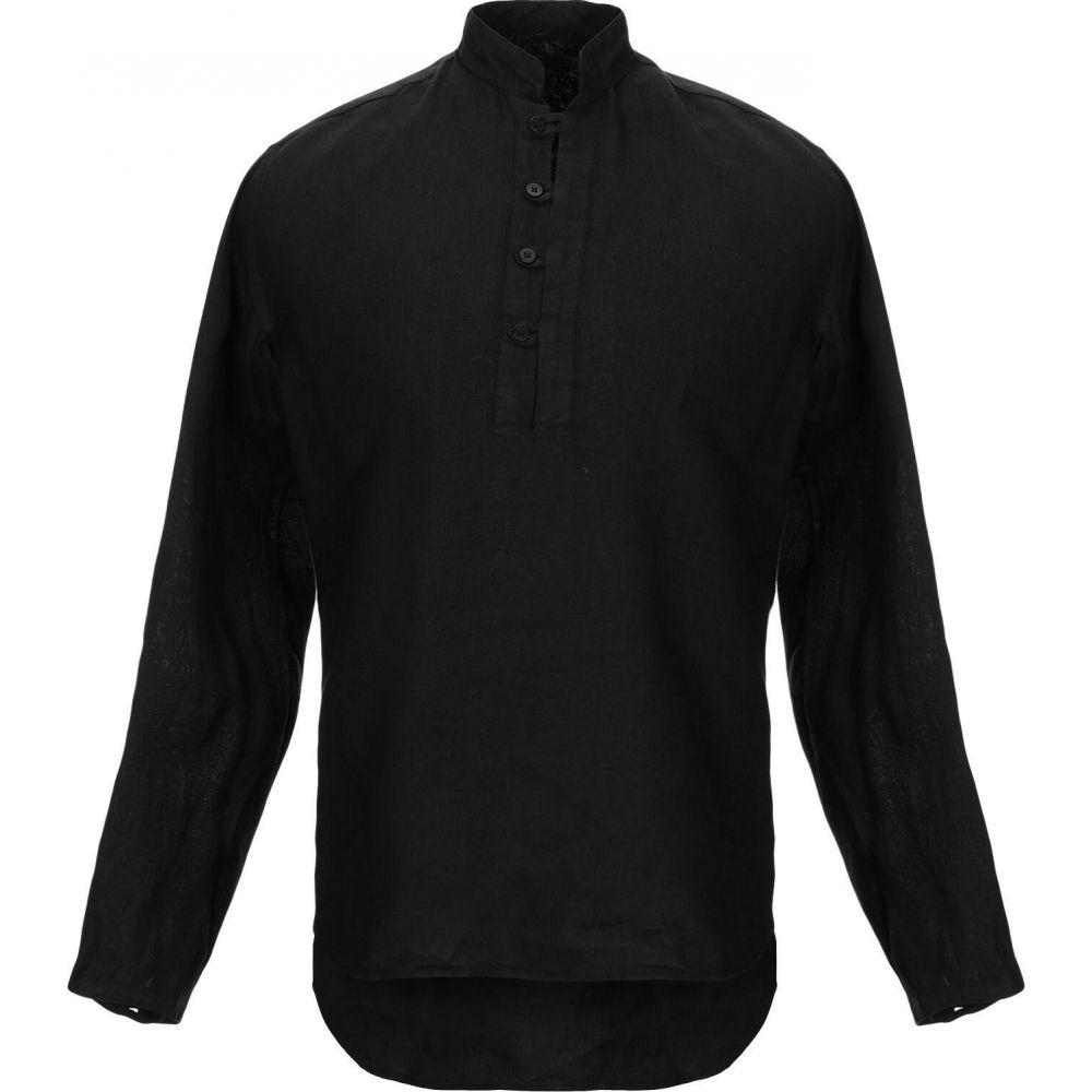 タケシ クロサワ TAKESHY KUROSAWA メンズ シャツ トップス【linen shirt】Black