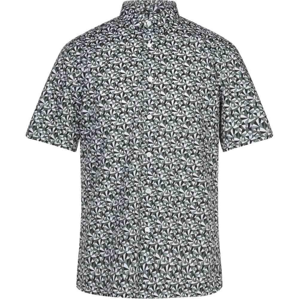 セオリー THEORY メンズ シャツ トップス【patterned shirt】Dark green