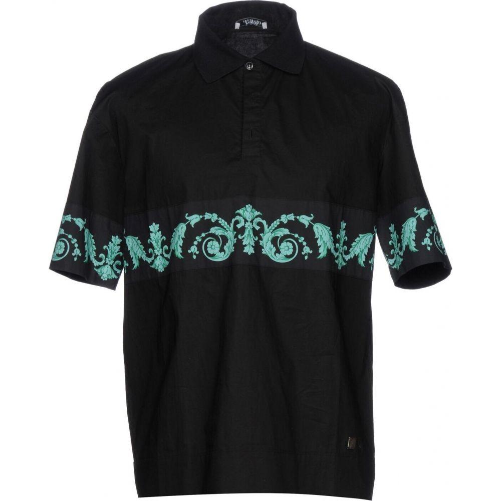 ヴェルサーチ VERSACE COLLECTION メンズ シャツ トップス【patterned shirt】Black