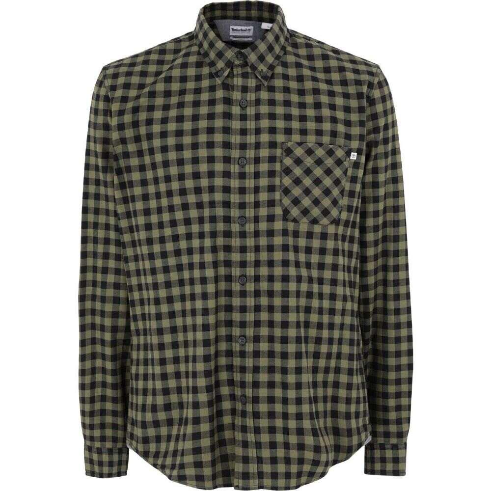 ティンバーランド TIMBERLAND メンズ シャツ トップス【checked shirt】Military green