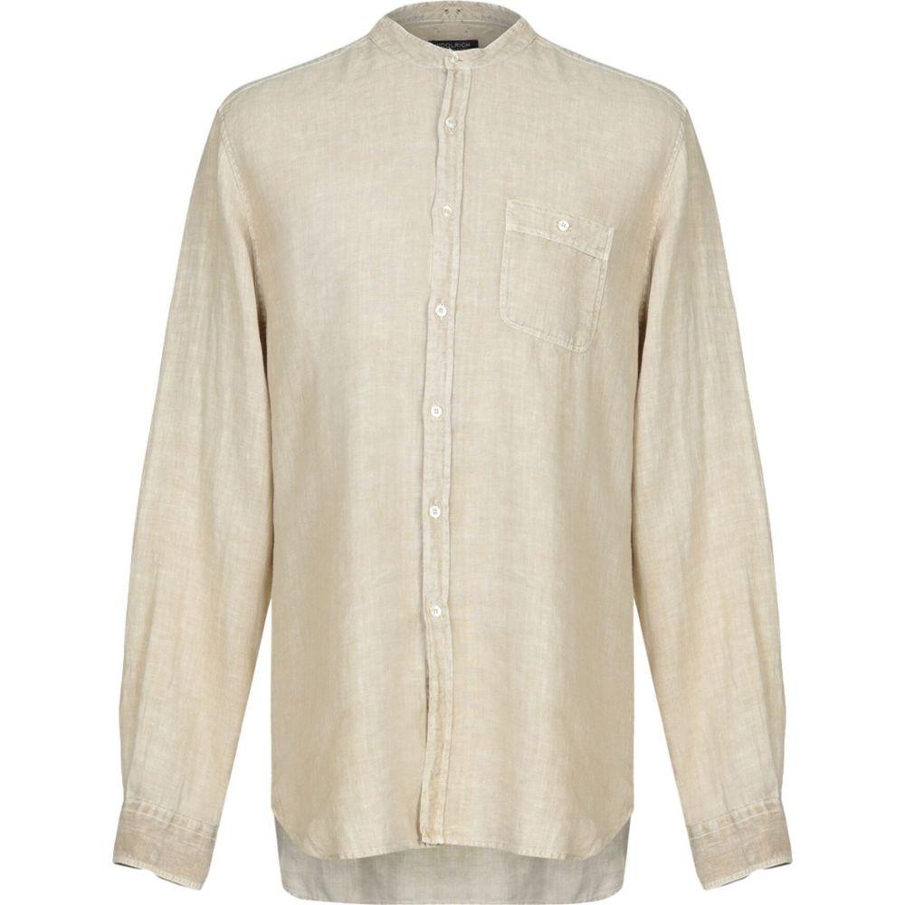 ウールリッチ WOOLRICH メンズ シャツ トップス【linen shirt】Beige