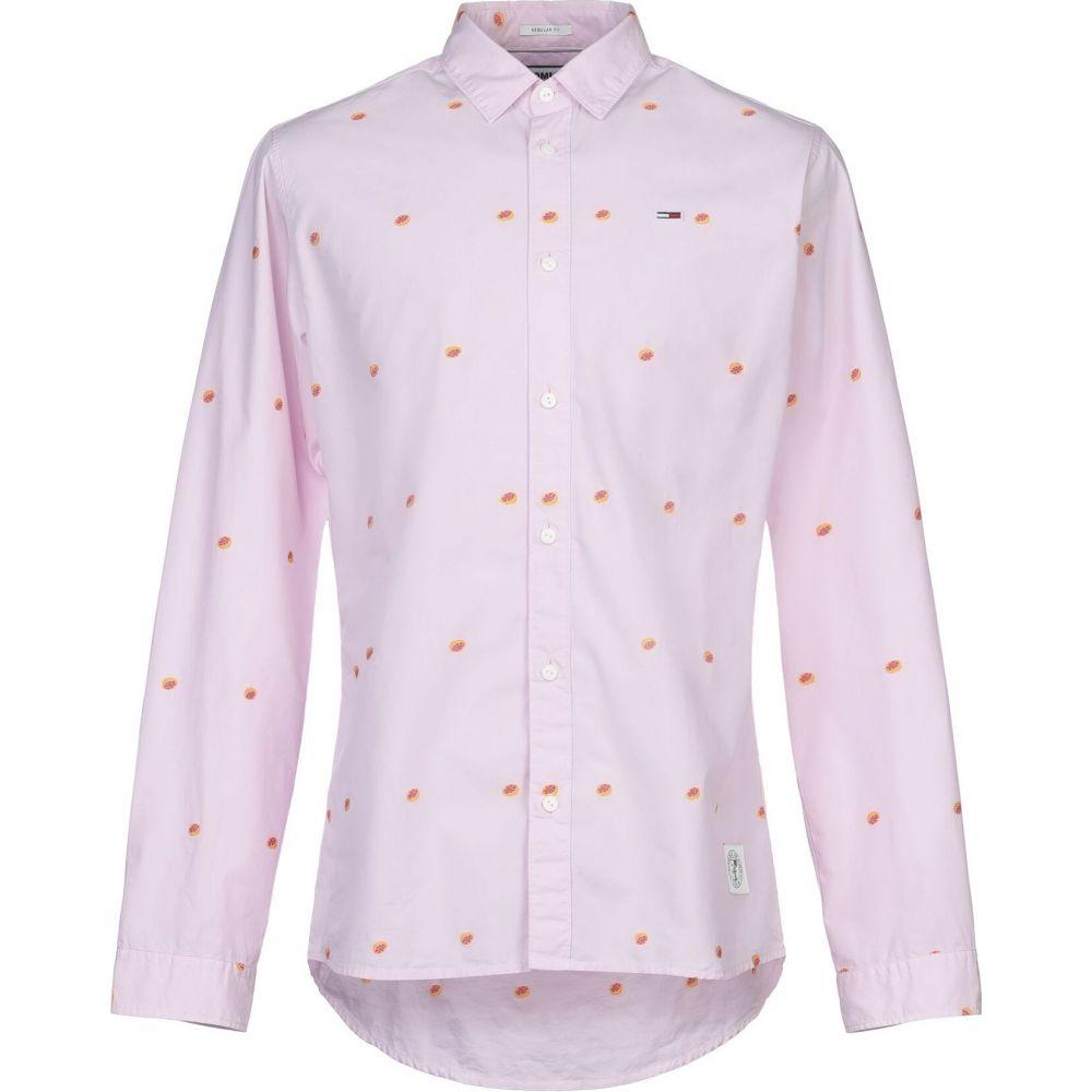 トミー ジーンズ TOMMY JEANS メンズ シャツ トップス【patterned shirt】Pink