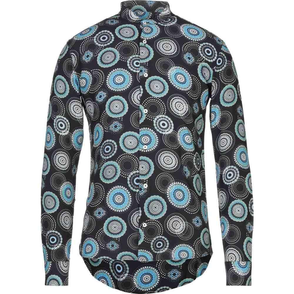 タケシ クロサワ TAKESHY KUROSAWA メンズ シャツ トップス【patterned shirt】Black